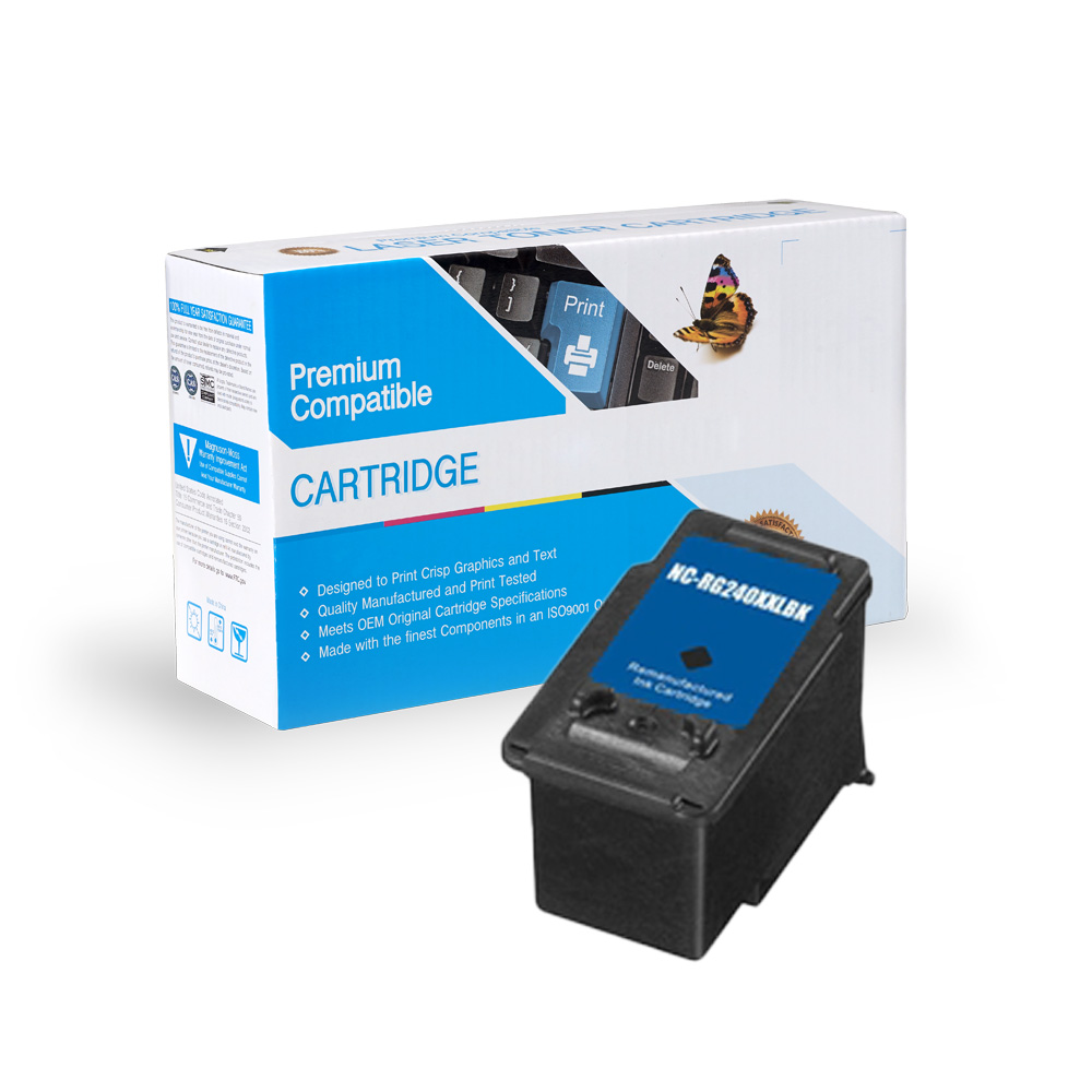 Canon PG-240XXL Remanufactured Extra High Yield Black Ink Cartridge