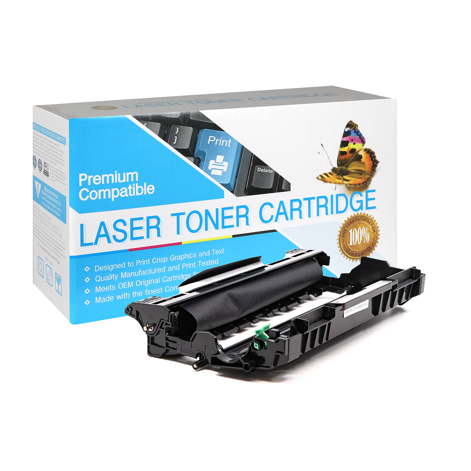 Brother DR630 Drum Unit Compatible For The TN660 Toner Series