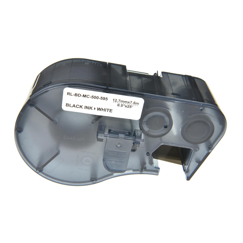 Brady  Label Tape MC-500-595-WT-BK