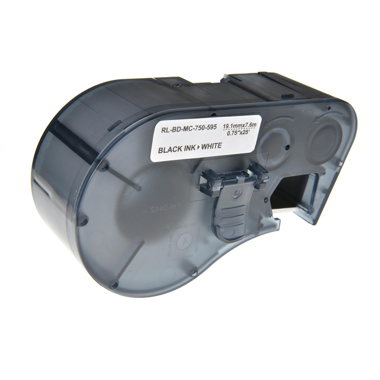 Brady  Label Tape MC-750-595-WT-BK
