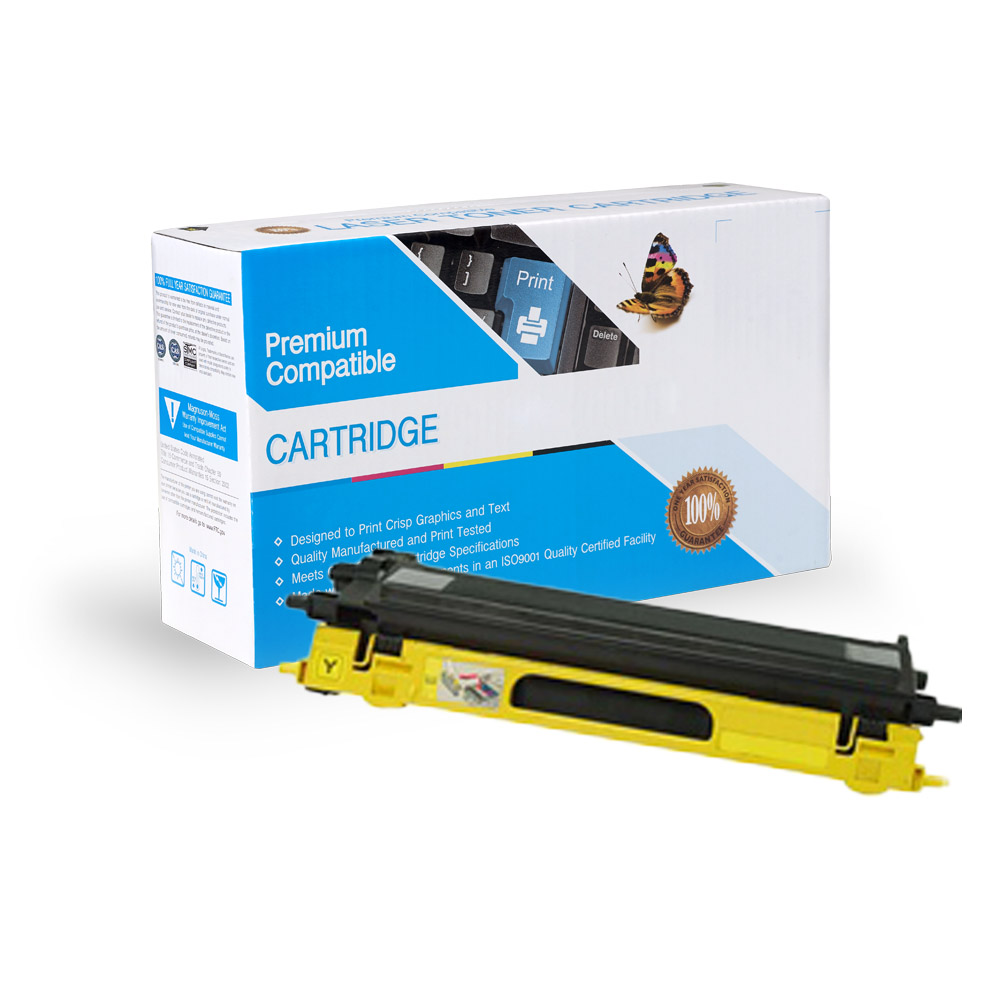 Brother Remanufactured Toner TN115Y