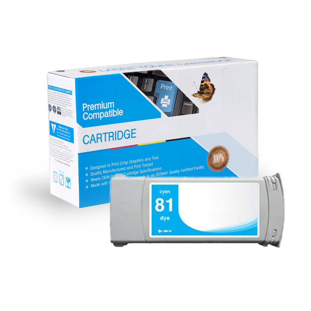 HP Remanufactured  C4931A, #81