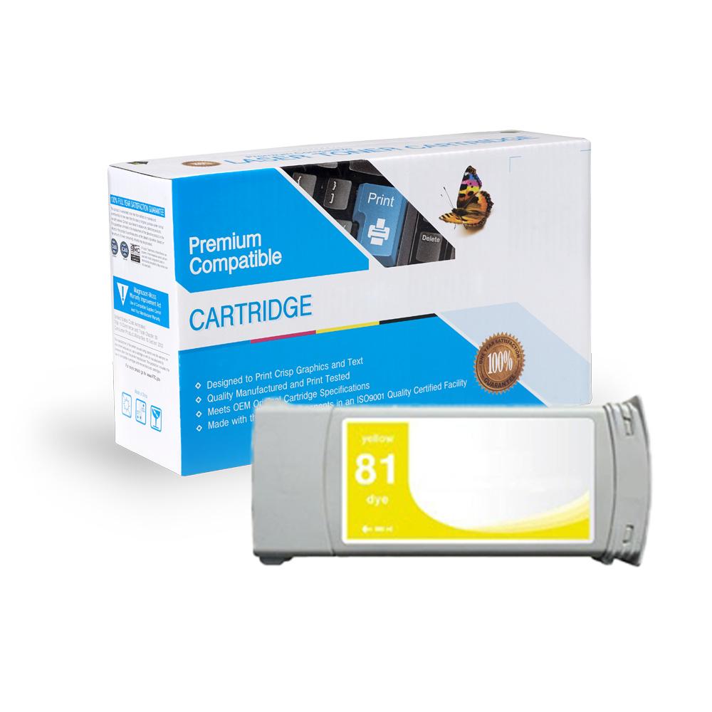 HP Remanufactured  C4933A, #81
