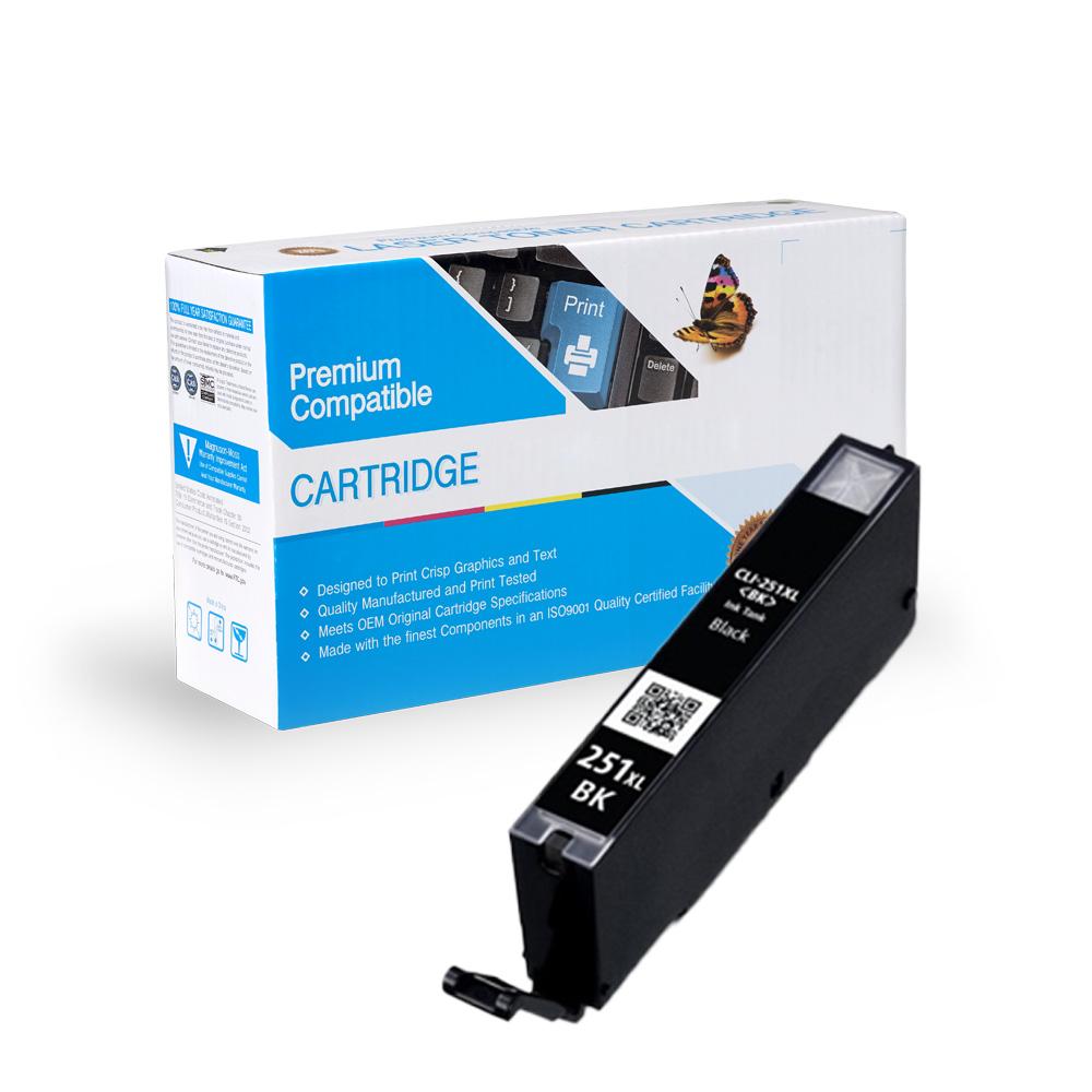 Canon Compatible  CLI-251xl Bk