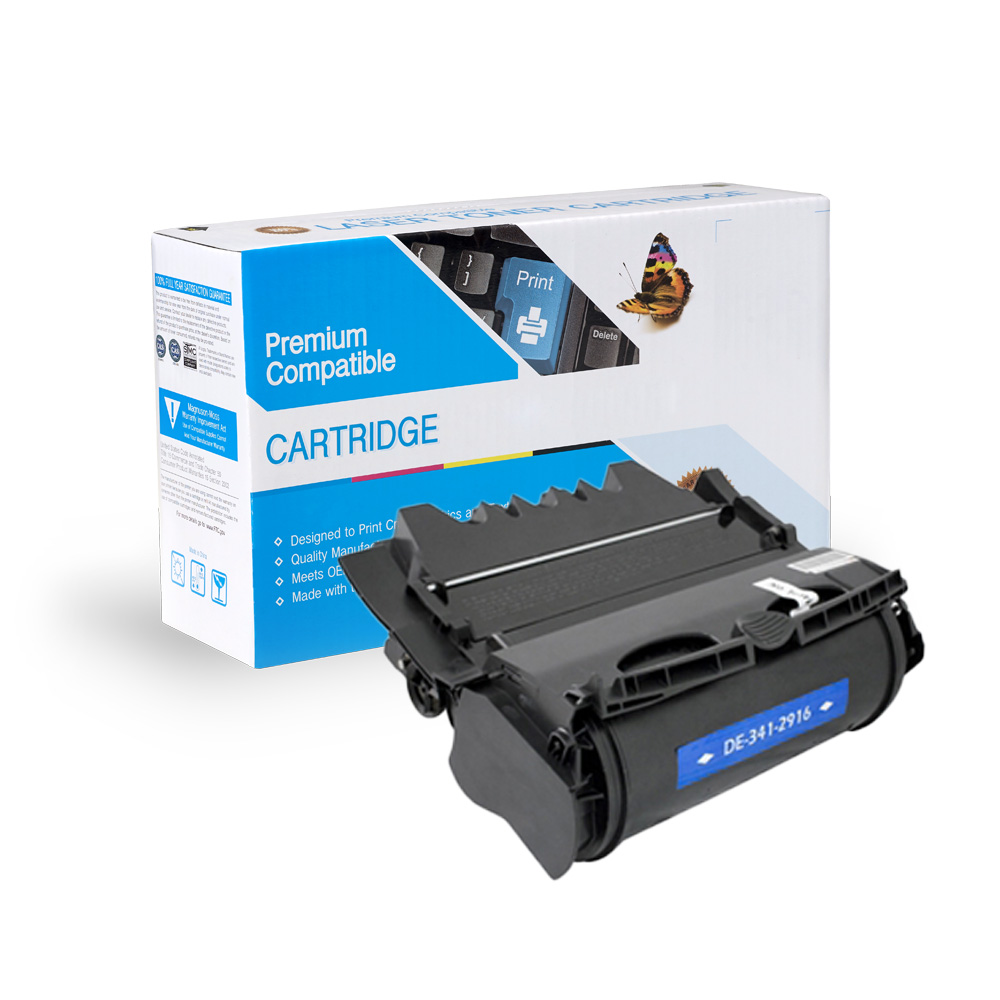 Dell Remanufactured Toner 341-2916, 341-2919