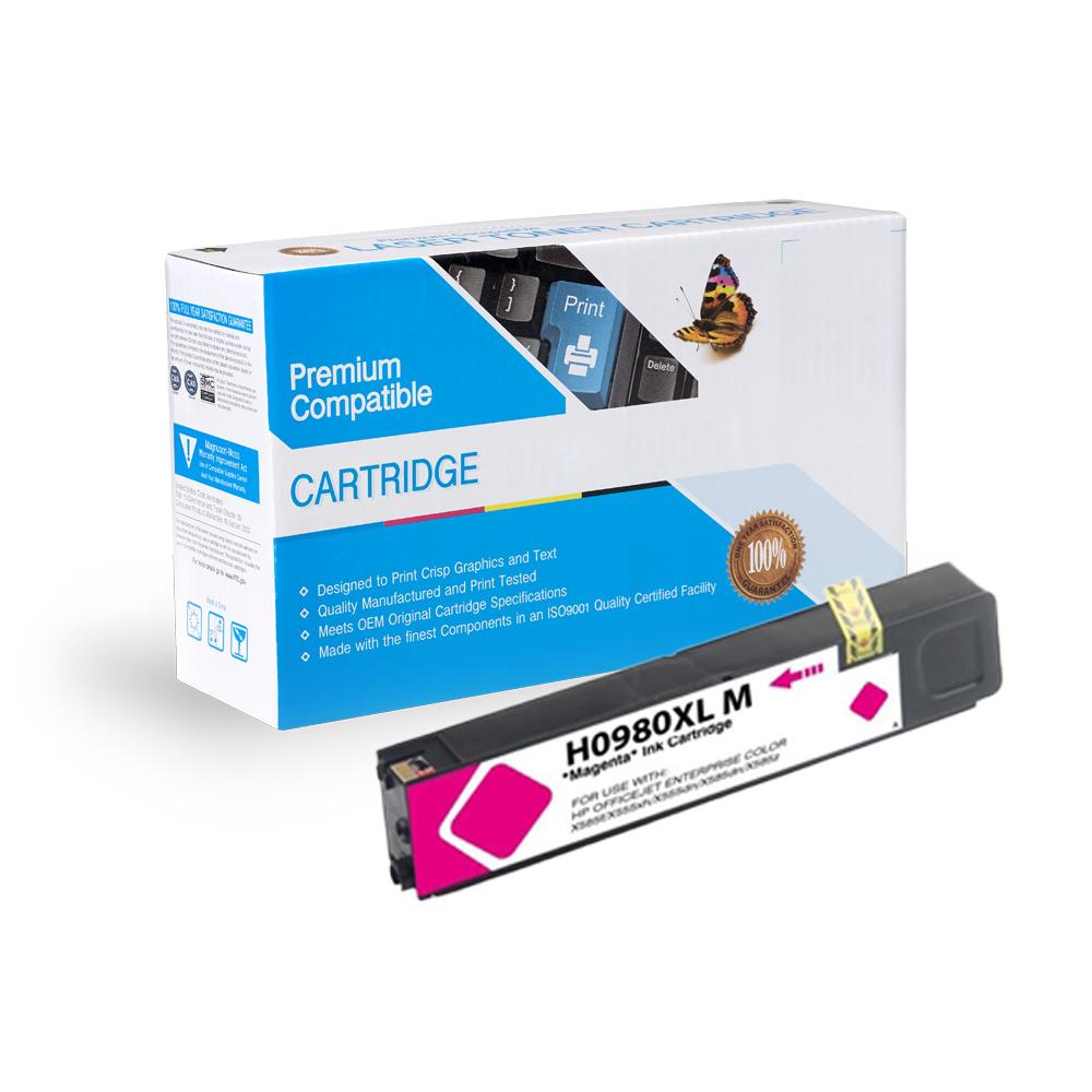 HP Compatible  980 Magenta, D8J08A