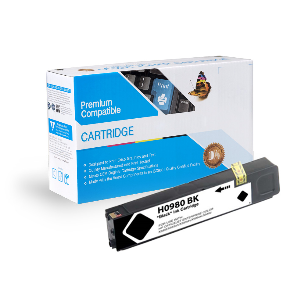 HP Compatible  980 Black, D8J10A