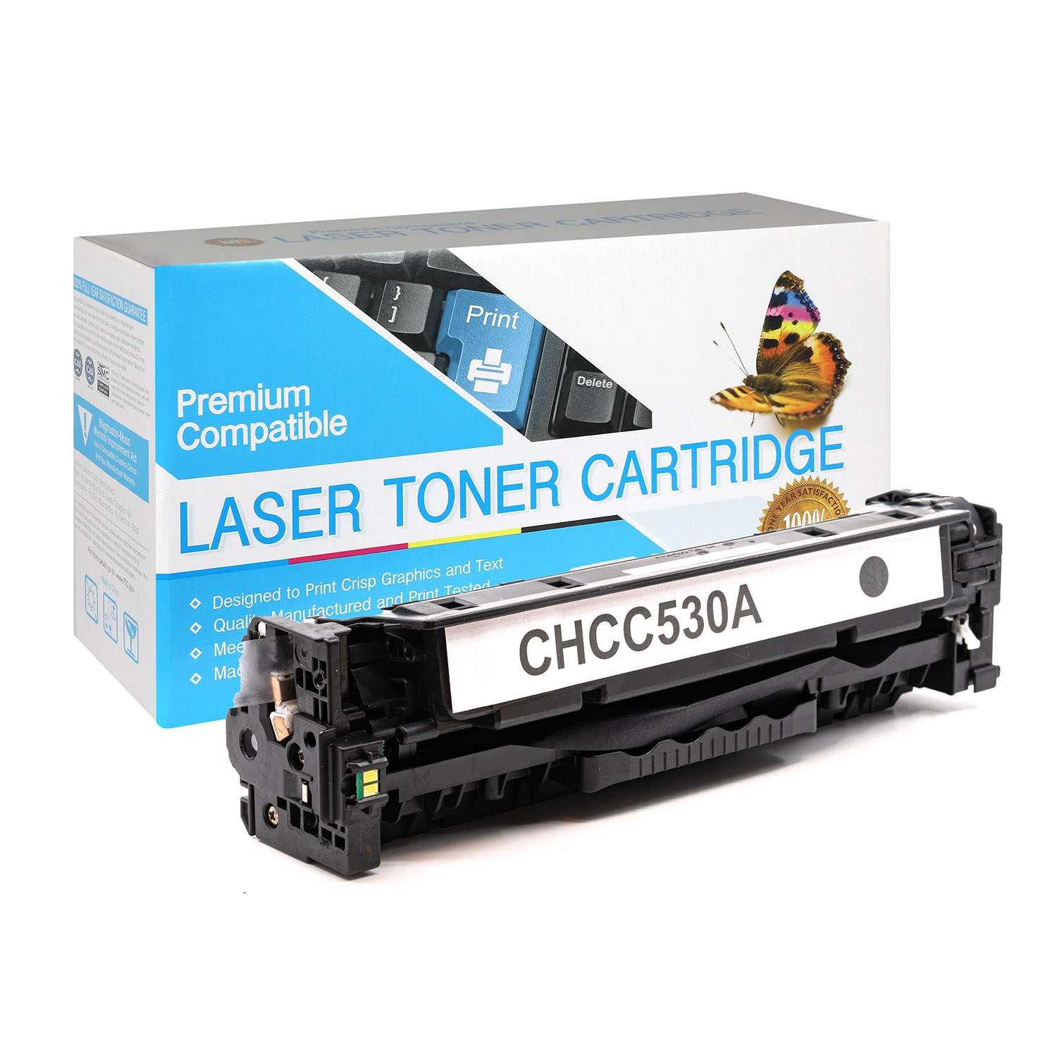 Black Laser Toner Cartridge compatible with the Canon (Canon 118) 2662B001AA
