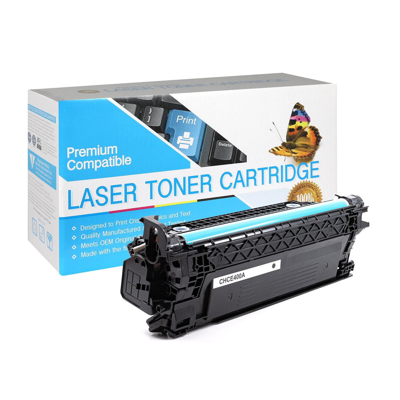 HP Compatible Toner CE400A, 507A