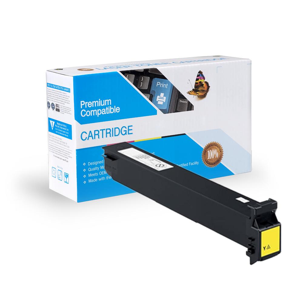 Konica-Minolta Compatible Toner TN411Y, TN611Y, A070230