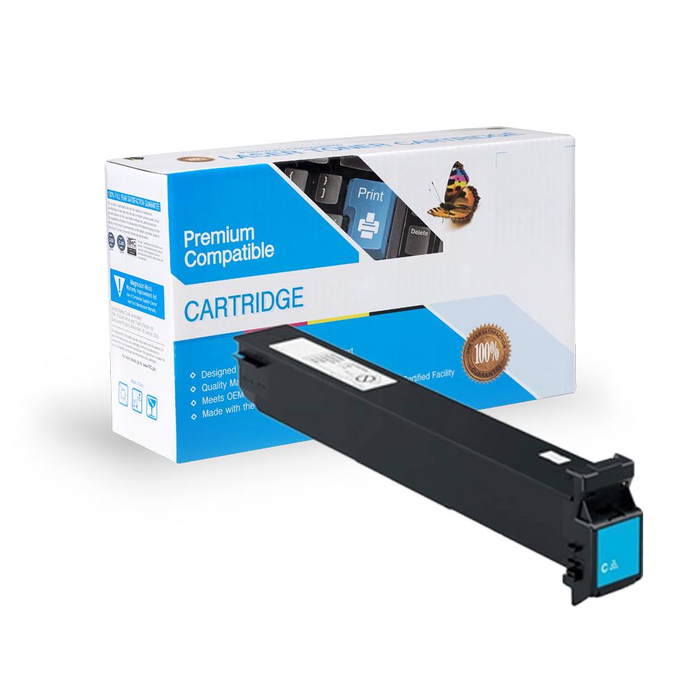 Konica-Minolta Compatible Toner TN411C, TN611C, A070430