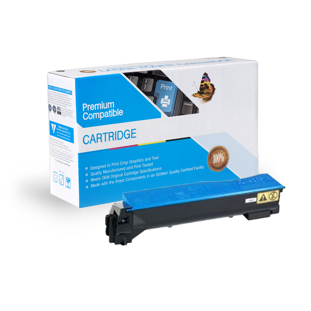 Kyocera-Mita Remanufactured Toner TK552C, 1T02HMCUS0