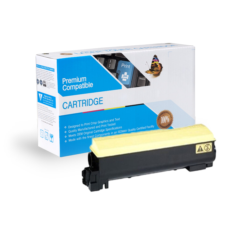 Kyocera-Mita Compatible Toner TK582Y