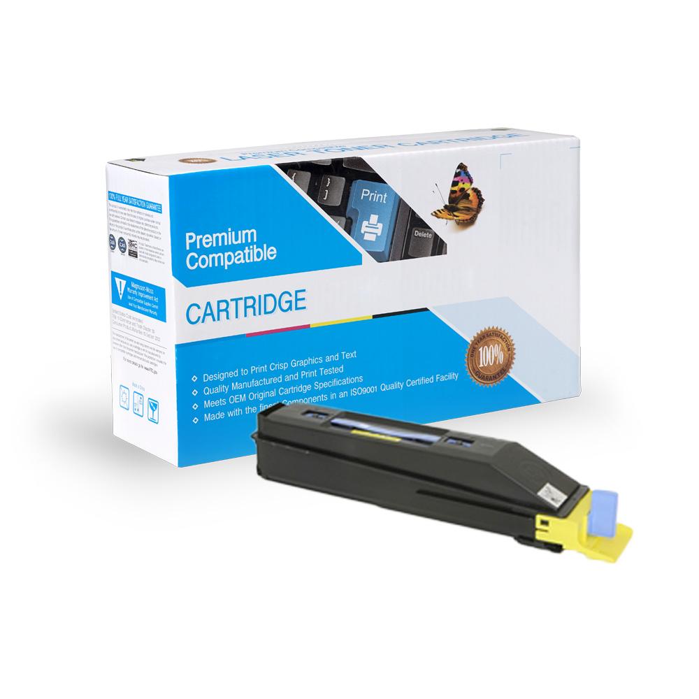Kyocera-Mita Compatible Toner TK857Y