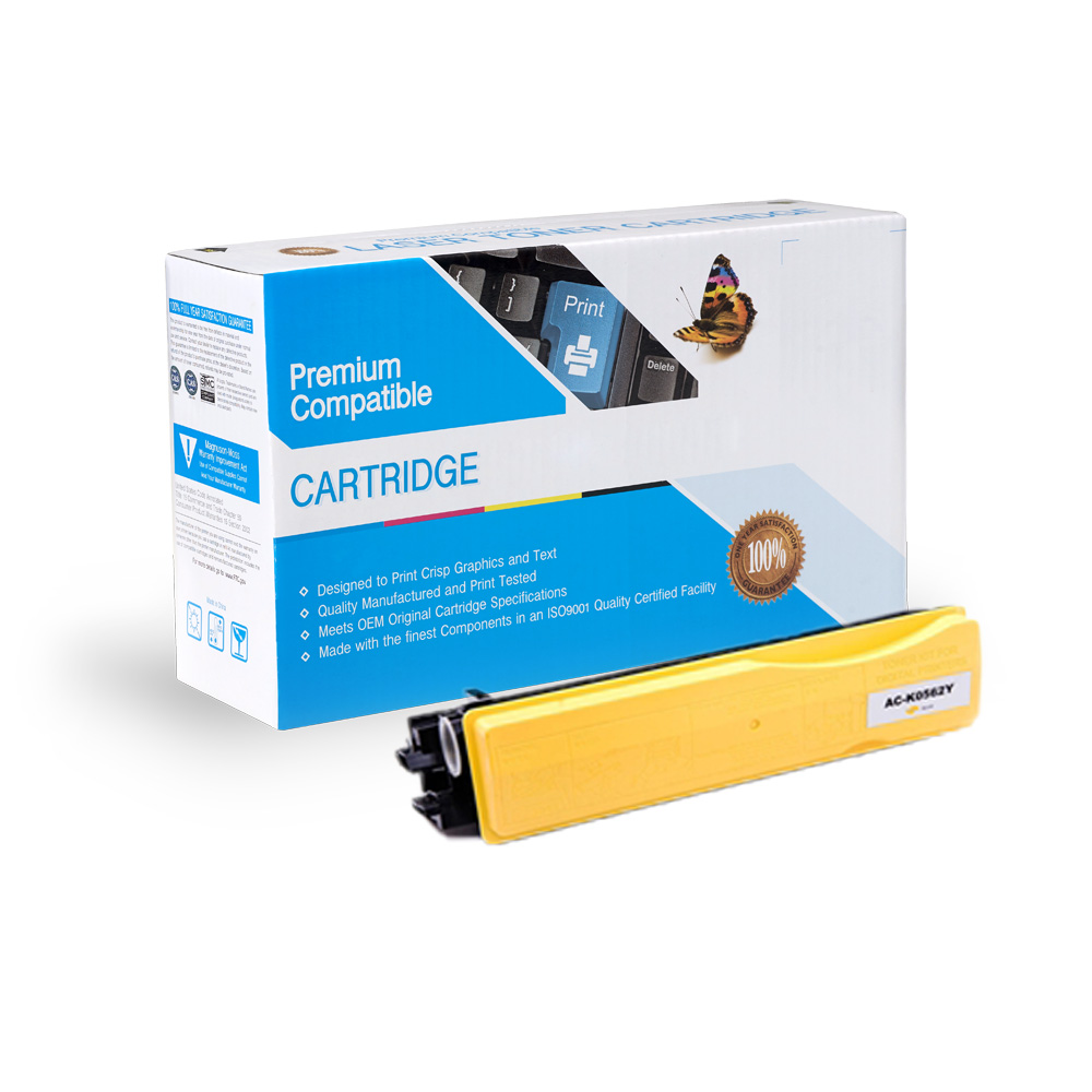 Kyocera-Mita Compatible Toner TK867Y