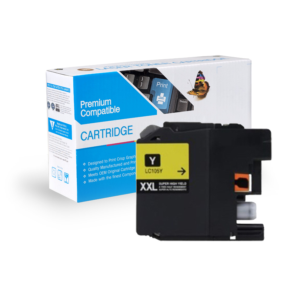 Brother Compatible  LC105Y