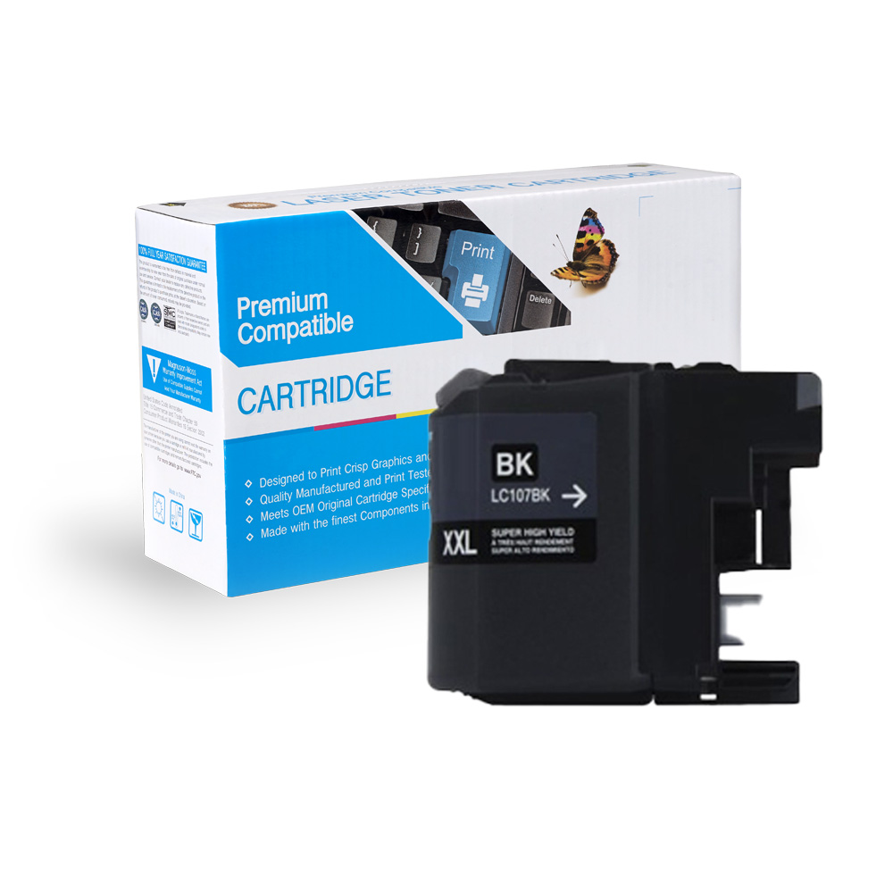 Brother Compatible  LC107BK