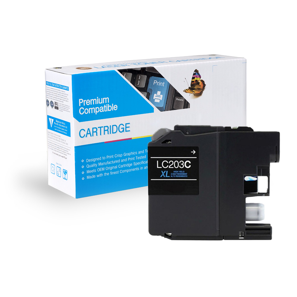 Brother Compatible  LC203C