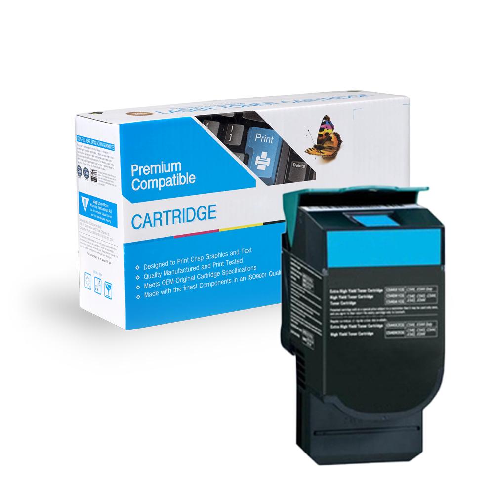 Lexmark Remanufactured Toner C544X2CG, C544X1CG