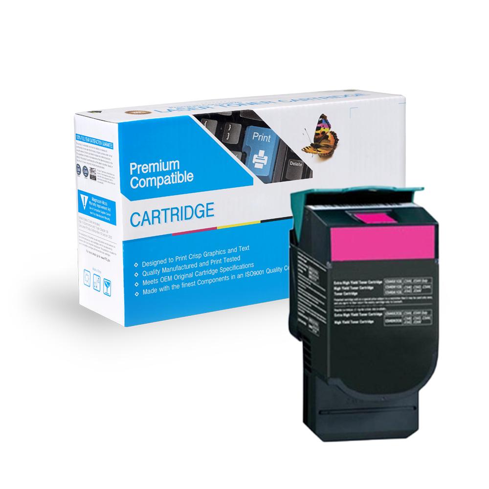 Lexmark Remanufactured Toner C544X2MG, C544X1MG