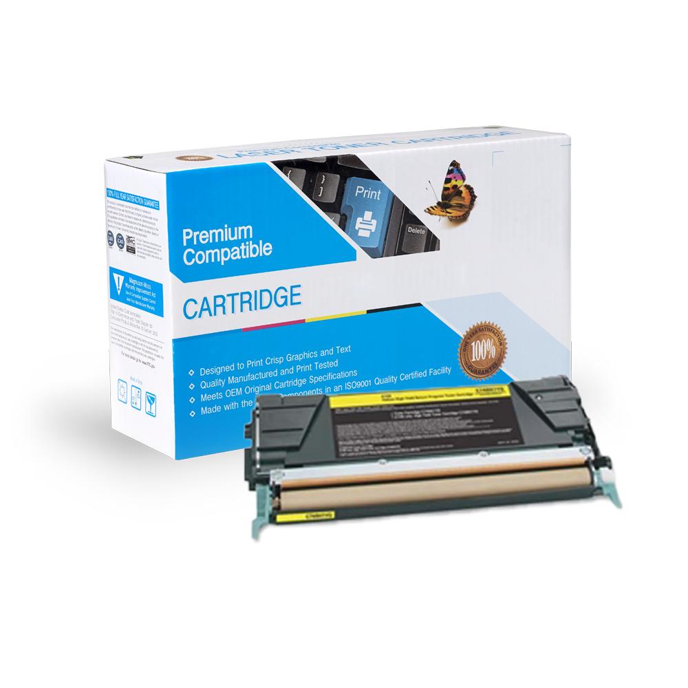 Lexmark Remanufactured Toner C748H1YG, X746A1YG