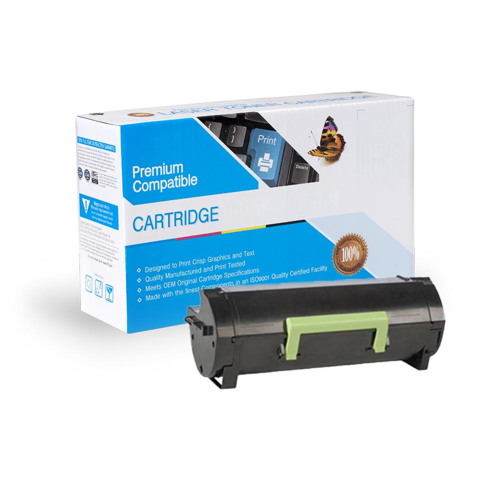 Lexmark Remanufactured Toner 50F1X00, 501X