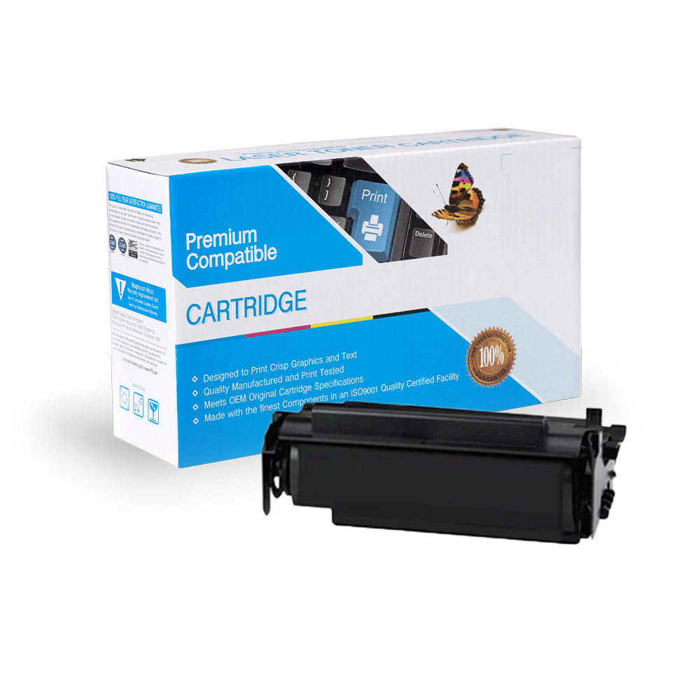 Lexmark Remanufactured Toner 12A4715, 12A4710