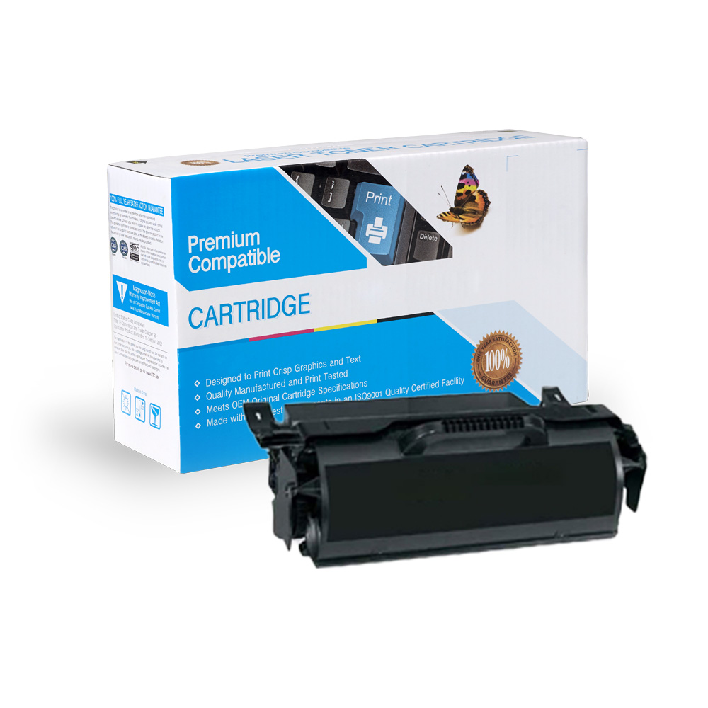 Lexmark Remanufactured Toner X651H11A, X651H21A