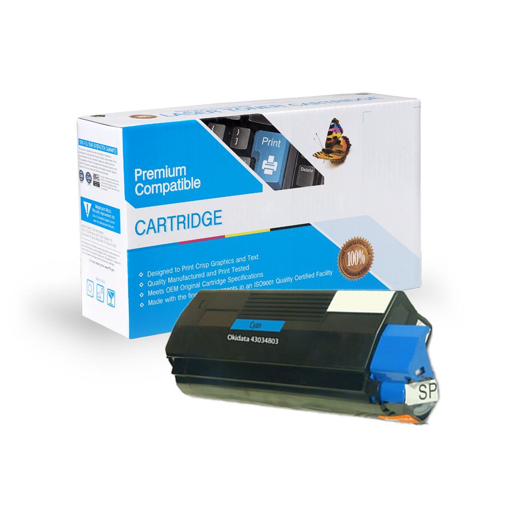 Oki-Okidata Remanufactured Toner 43034803