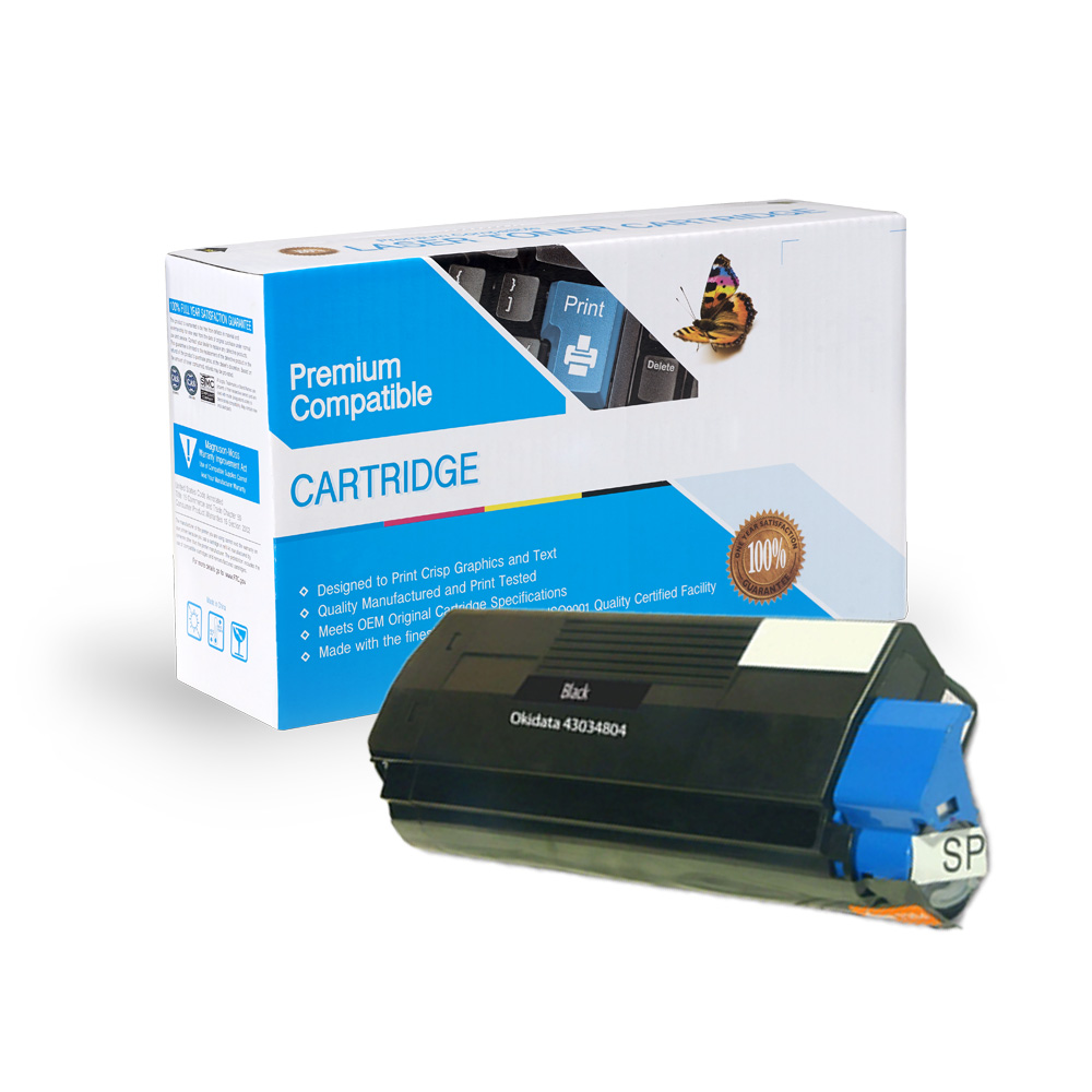 Oki-Okidata Remanufactured Toner 43034804