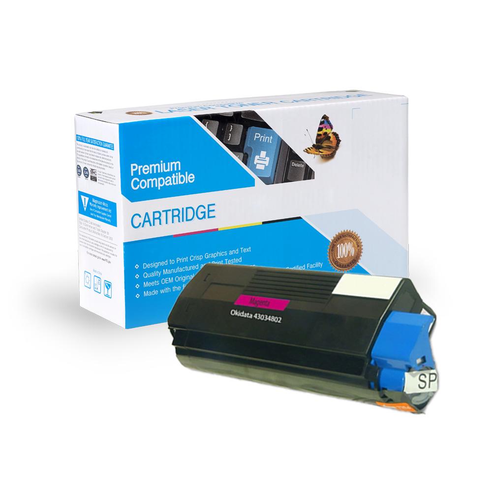 Oki-Okidata Remanufactured Toner 43034802