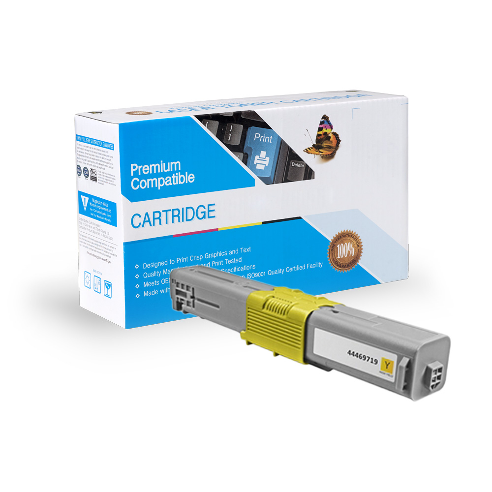 Oki-Okidata Compatible Toner 44469719, Type C17
