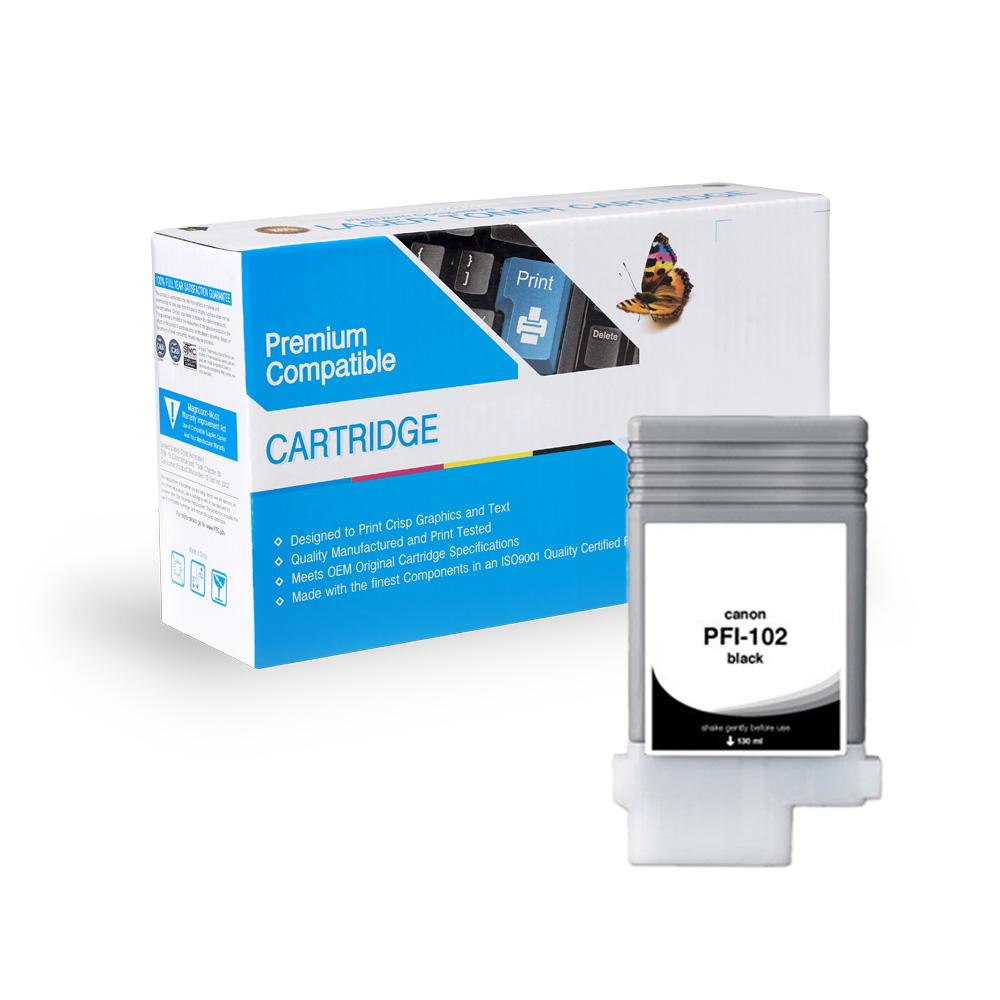 Canon Compatible  PFI-102BK