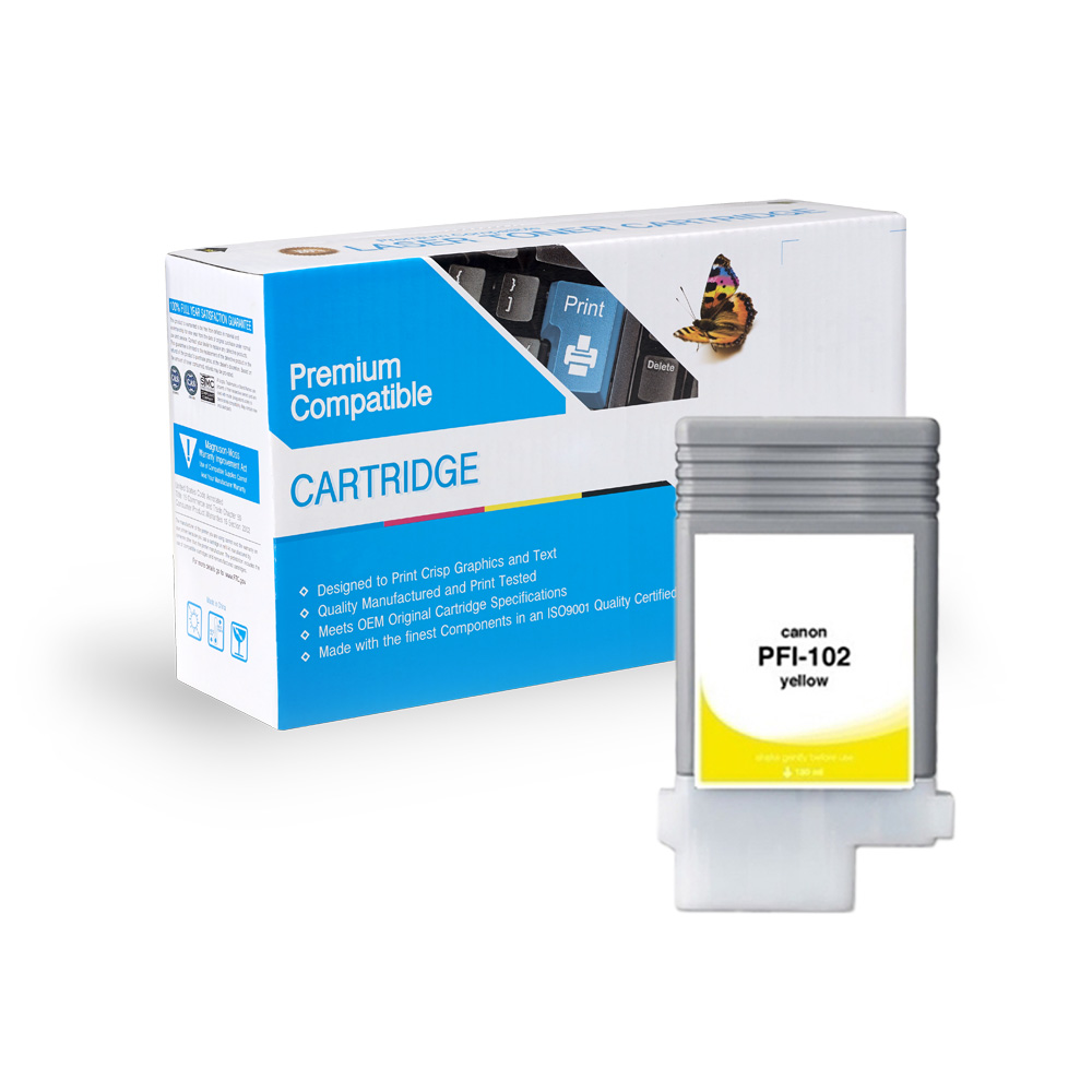 Canon Compatible  PFI-102Y