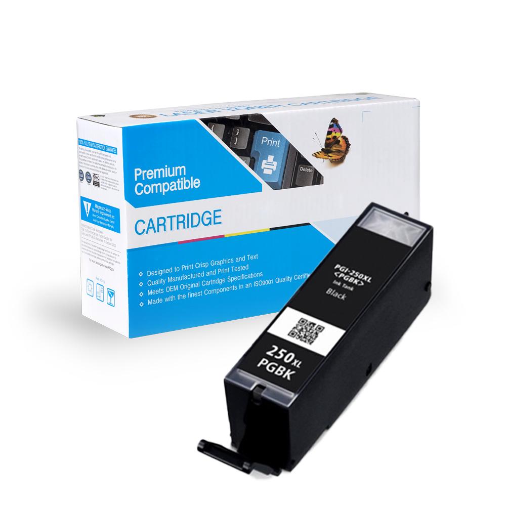 Canon Compatible  PGI-250xl Bk