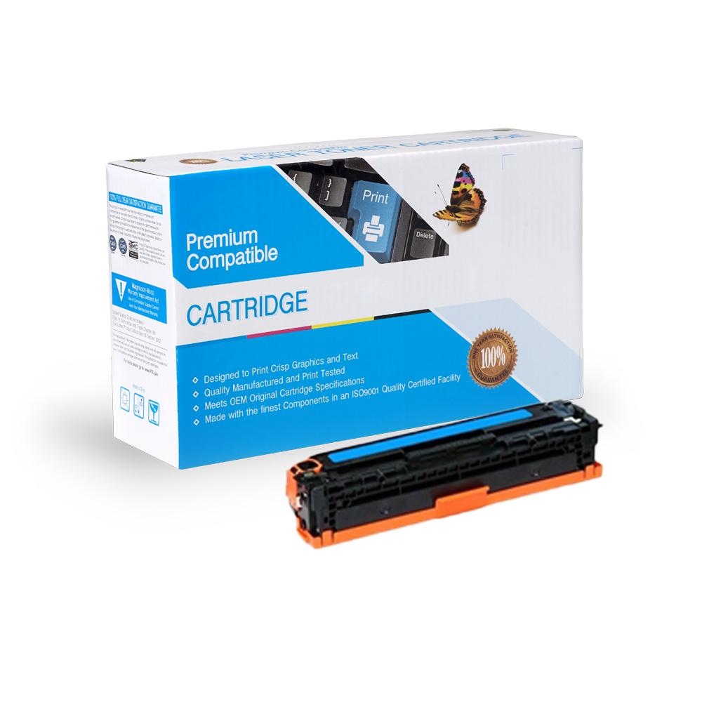 HP Remanufactured Toner CE341A, 651A