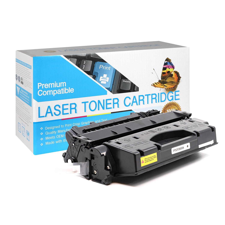 HP Compatible Toner CF280X, 80X