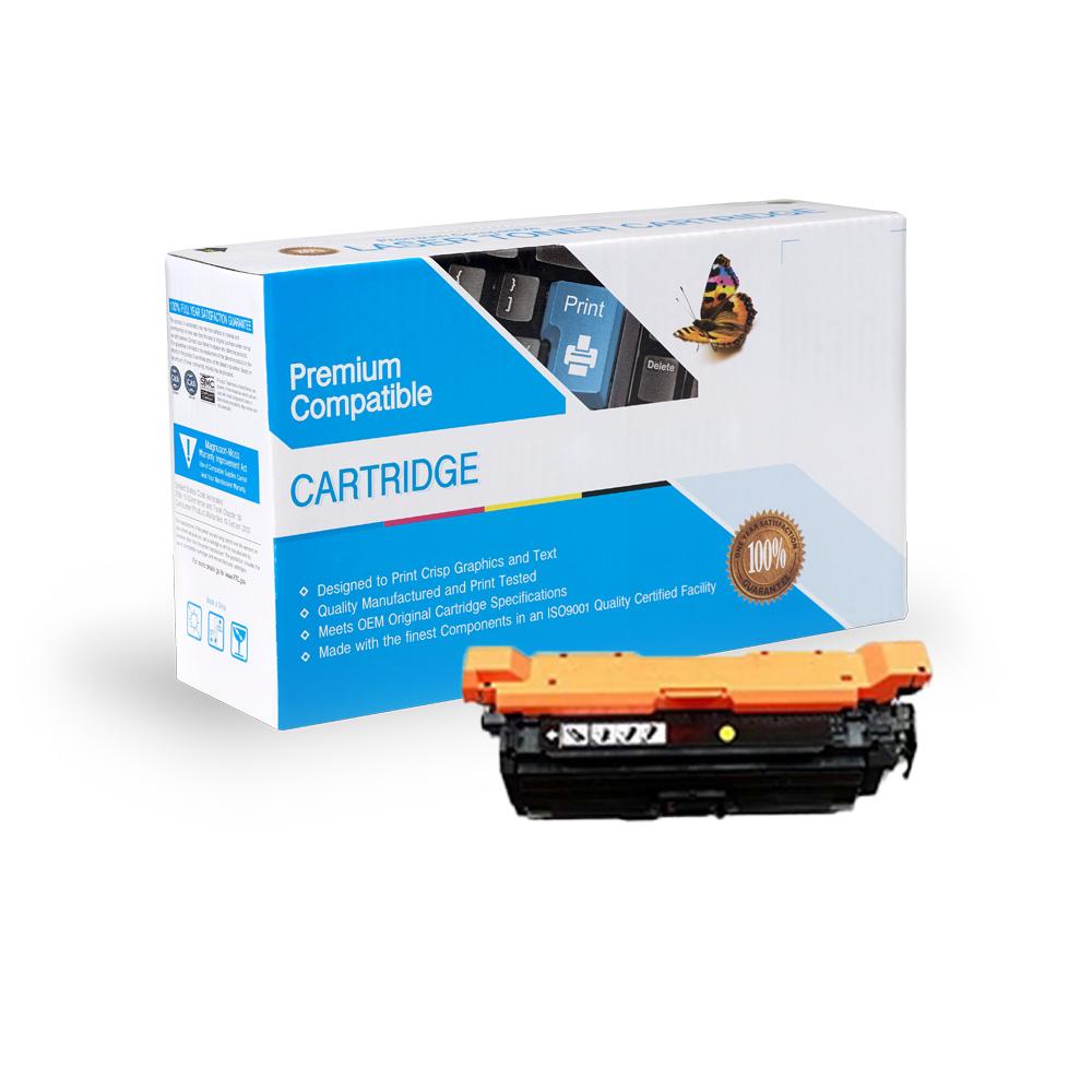 HP Remanufactured Toner CF332A, 654A