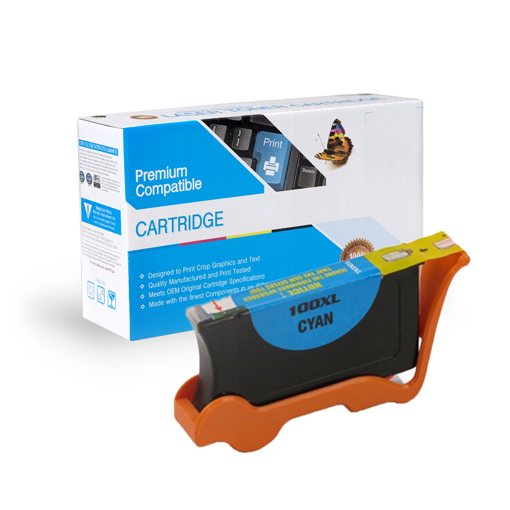 Lexmark 14N1069 100XL High Capacity Cyan Ink Cartridge