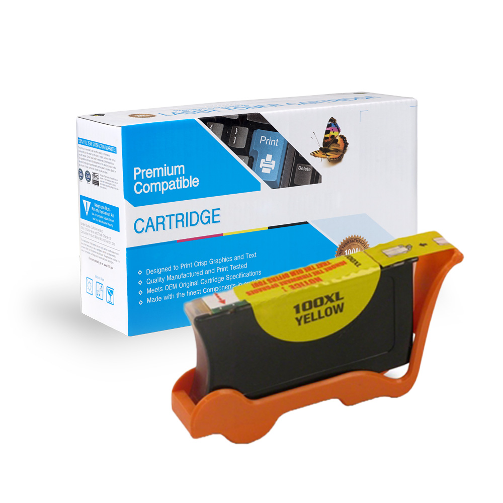 Lexmark 14N1071 100XL High Capacity Yellow Ink Cartridge