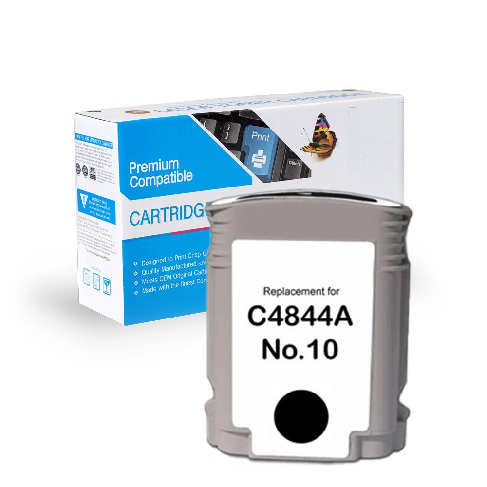 HP Remanufactured  C4844A, #10 Black