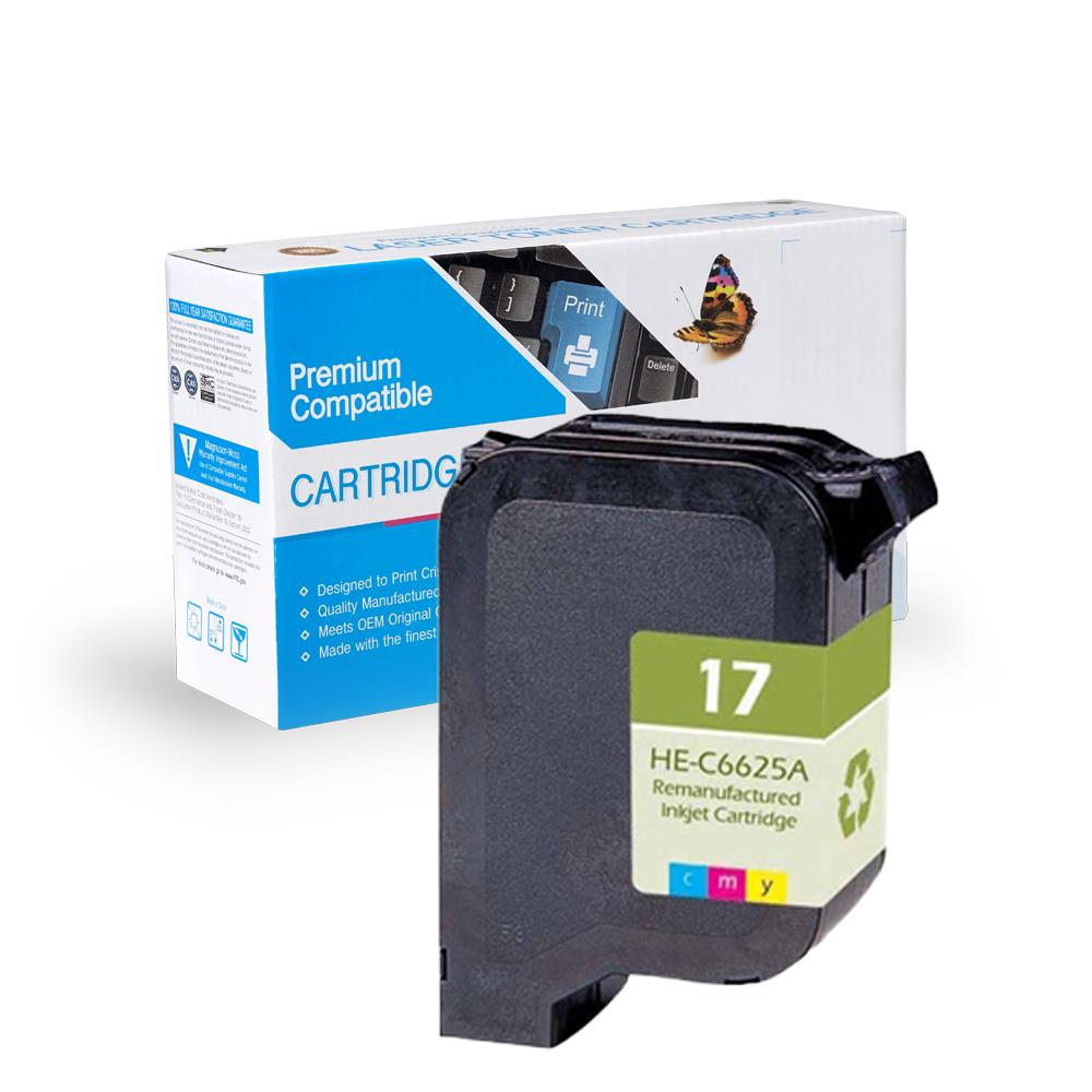 HP Remanufactured  C6625A, C6625D, #17