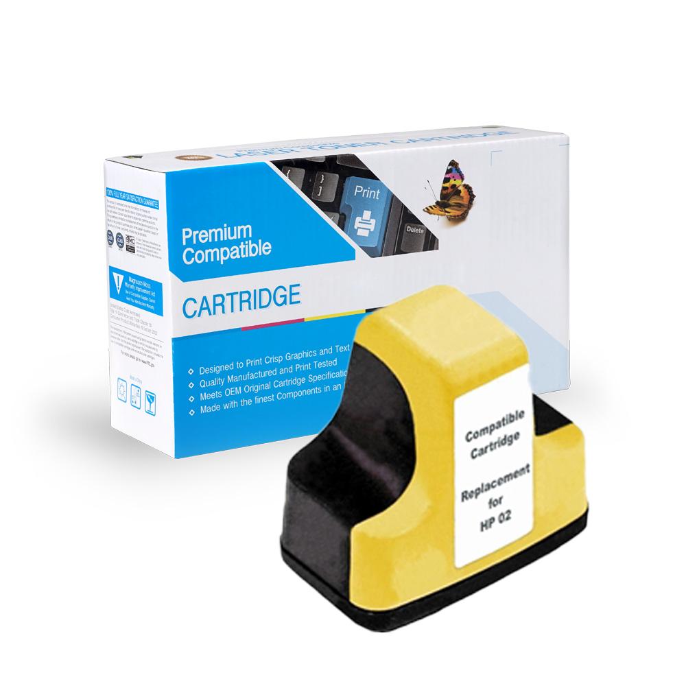 HP Remanufactured  C8773WN, HP 02 Yellow
