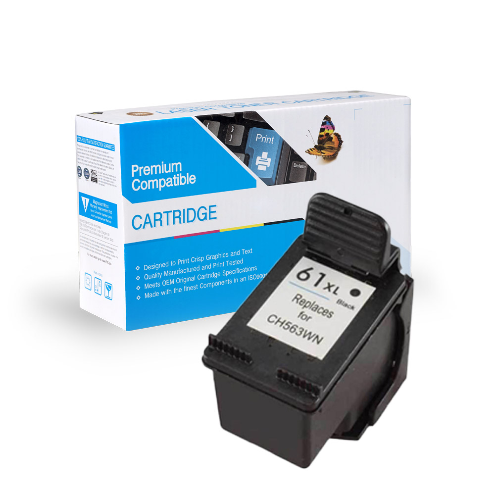 HP CH563WN (HP 61XL) Black Ink Cartridge