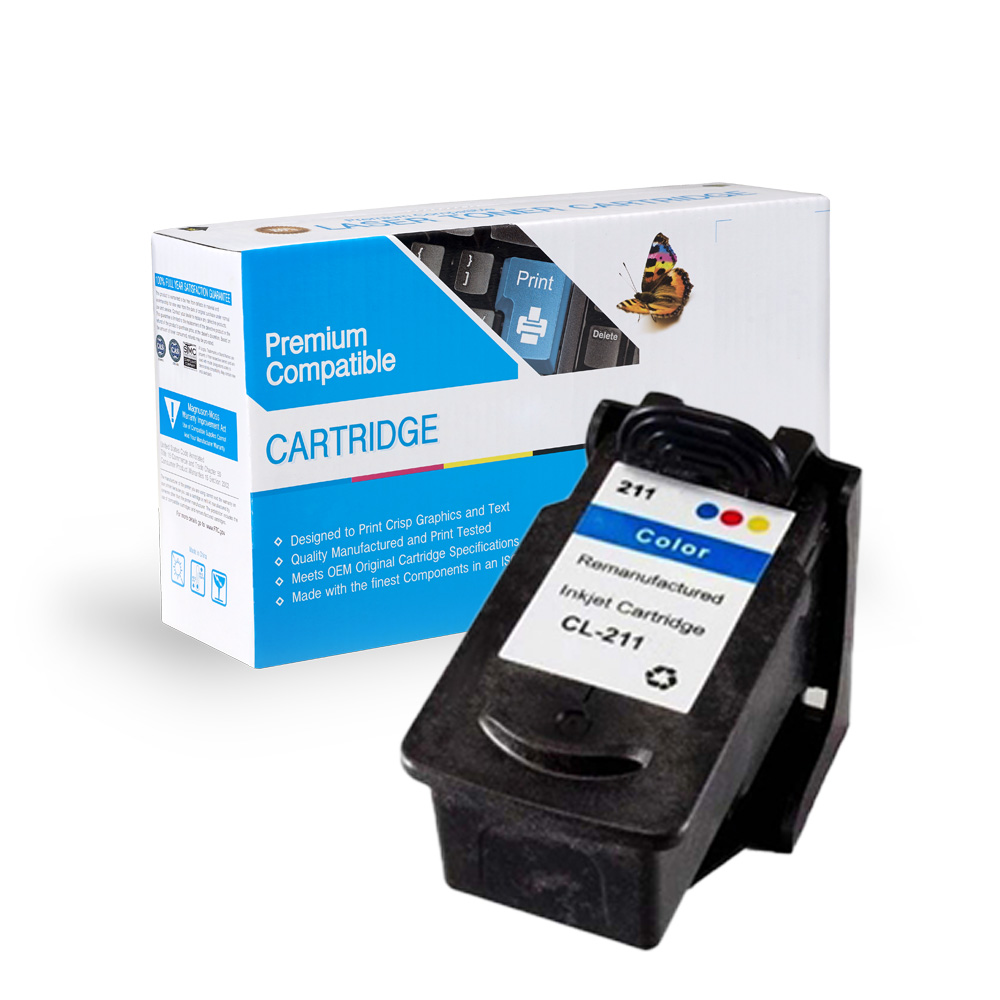 Canon Remanufactured  CL-211