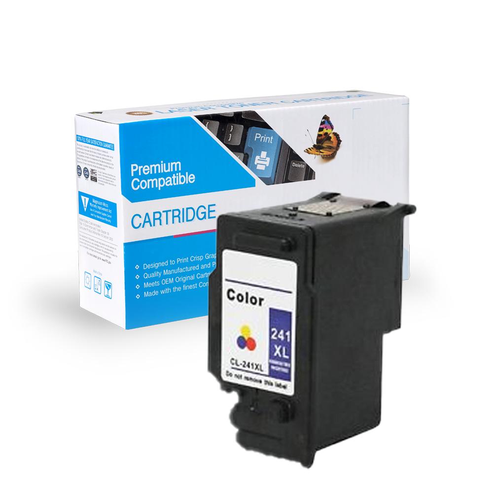 Canon Remanufactured  CL-241, CL-241XL, 5208B001, 5209B001