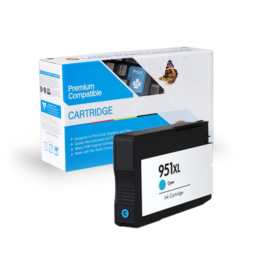 HP CN046AN (HP 951XL) Cyan Inkjet Cartridge