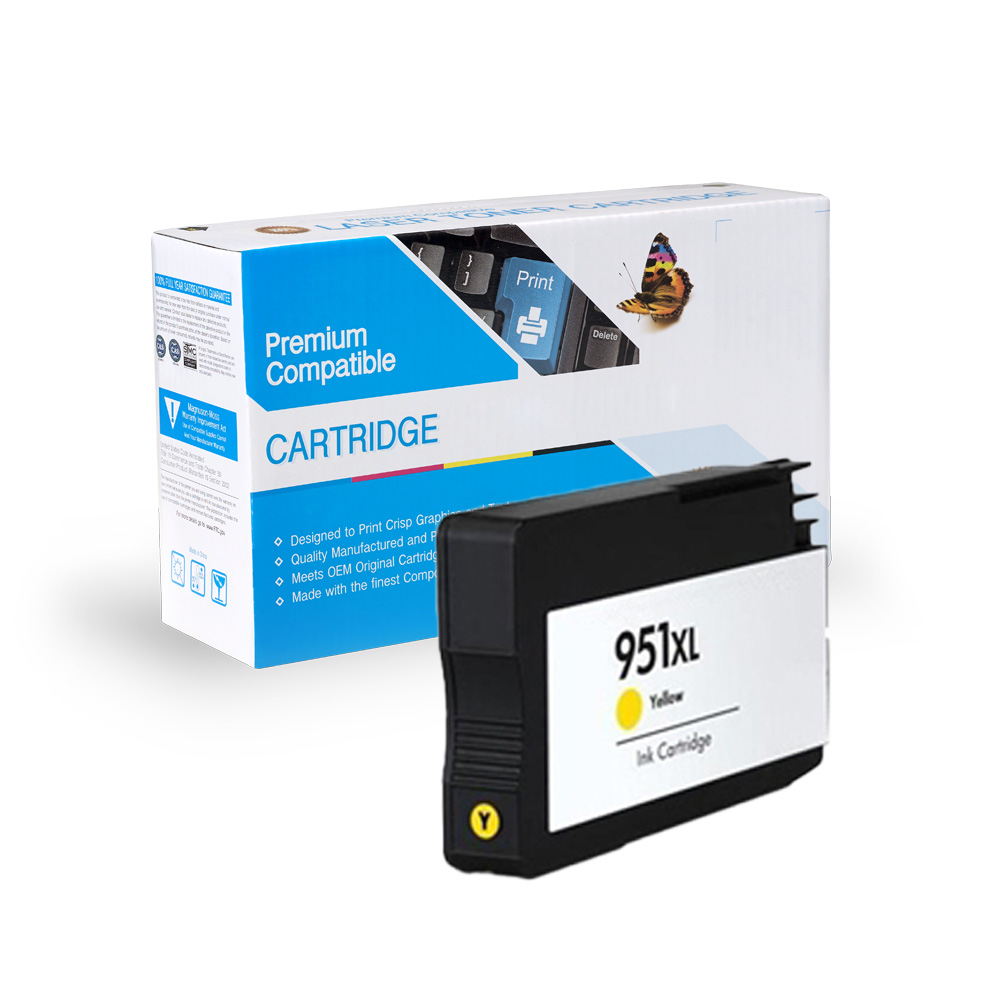 HP CN048AN (HP 951XL) Yellow Inkjet Cartridge