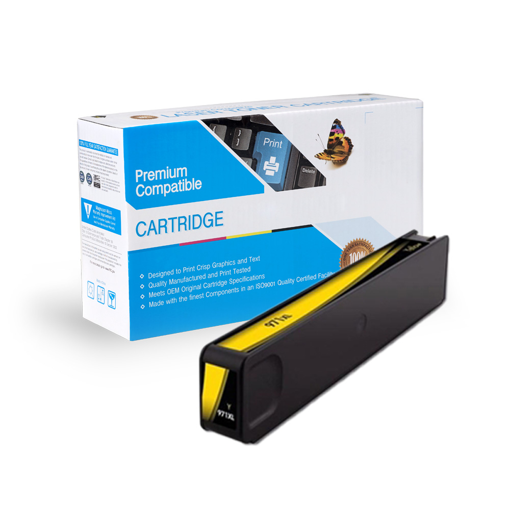 HP 971XL (CN628AM) Yellow High-Yield Ink Cartridge