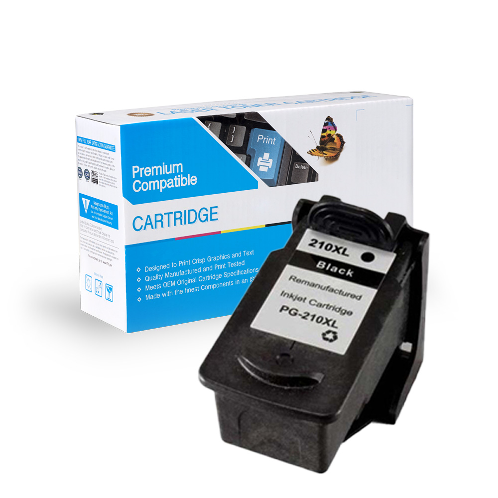 Canon Remanufactured  PG-210XL ,  PG-210